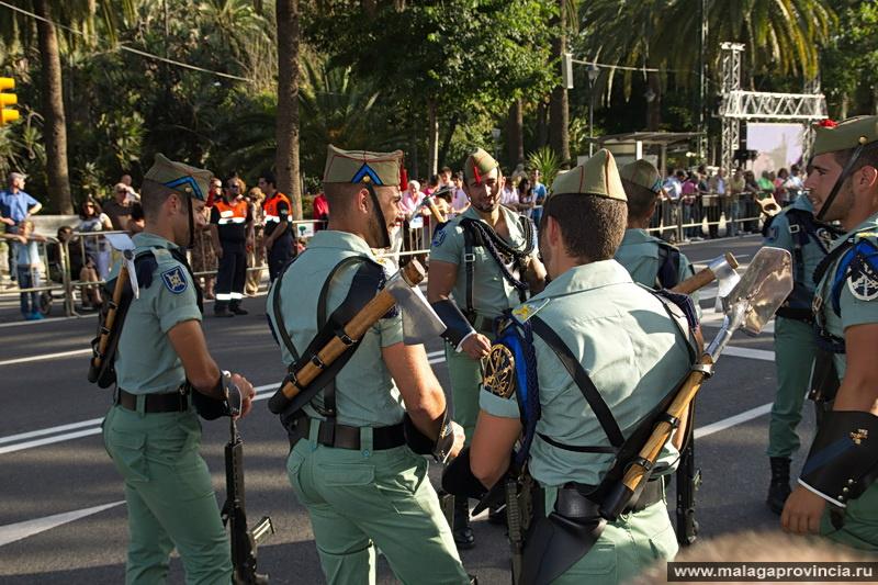 гигантских экранах иностранный легион испании фото вам